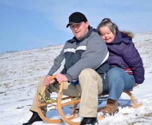 people-on-sled